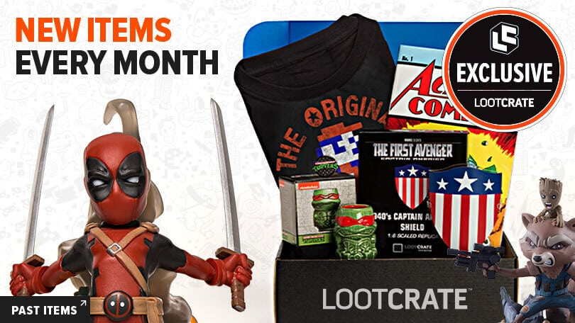 LootCrate Subscription Gift For Your Geek Brother