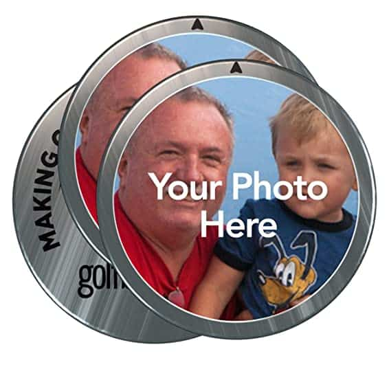 gifts for golf lovers:personalized golf ball markers