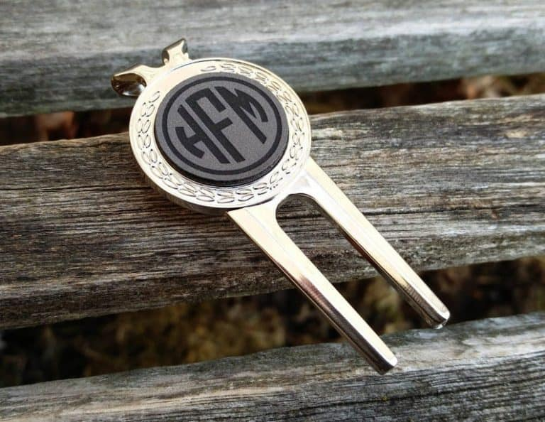 Personalized Golf Divot Tool & Marker