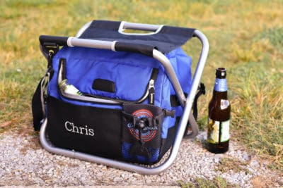 Personalized Insulated Cooler Chair for Best Man