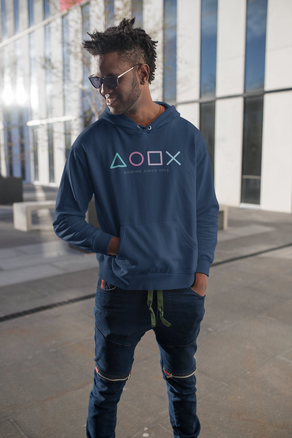 Personalized PlayStation Gamer Hoodie For Brother