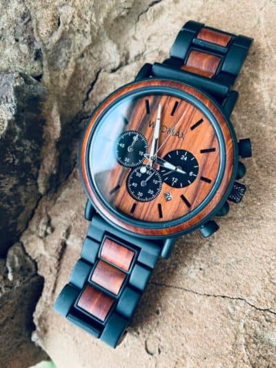 Personalized Wooden Watch - Fashionable Gift For Best Man