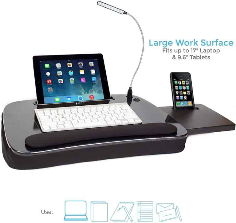 Sam Multi Tasking Memory Foam Lap Desk
