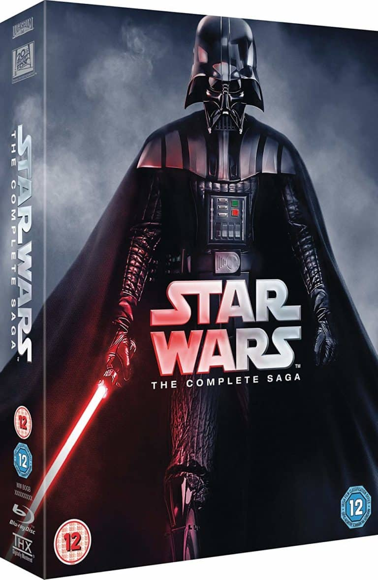 cool star wars gifts: star wars - the complete saga