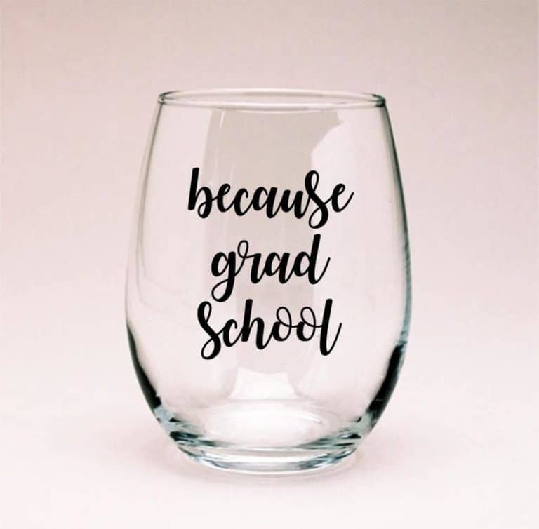 college gifts ideas:Wine Glass
