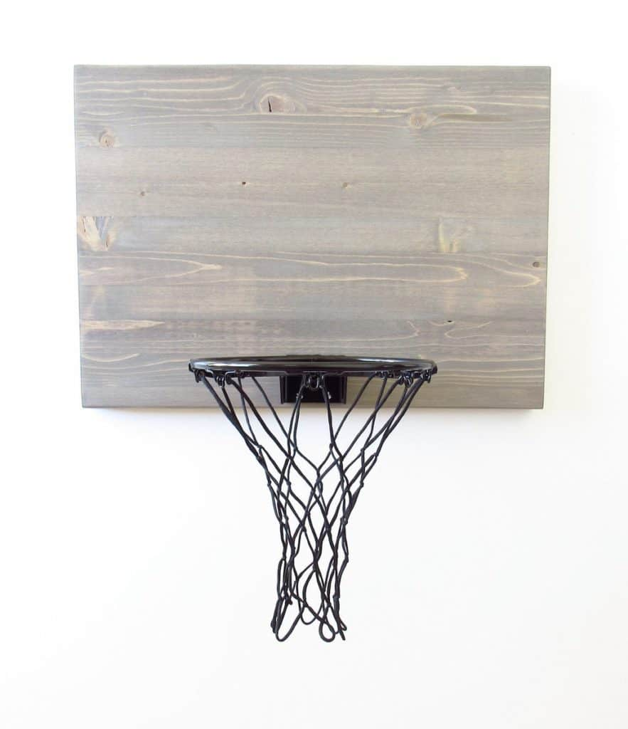 Wood Basketball Hoop For Man Cave
