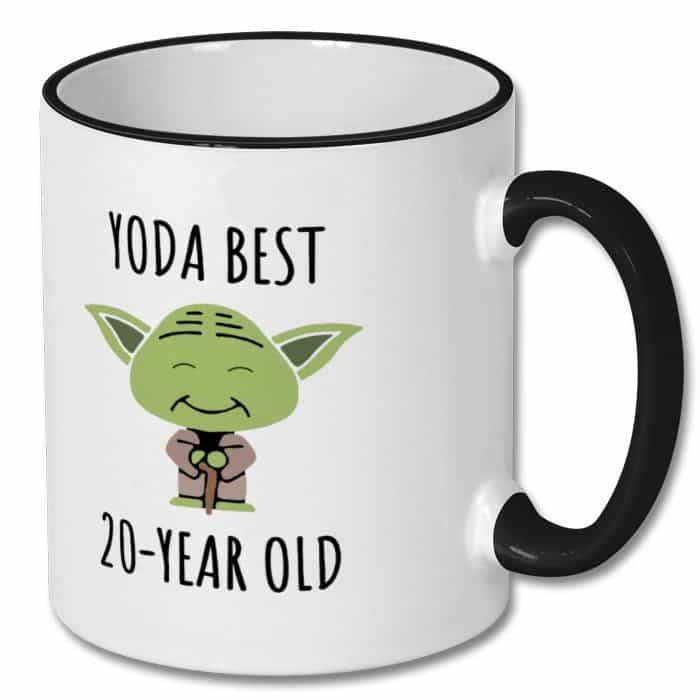 Yoda Best 20-Year Old Mug Star Wars Gift For Brother
