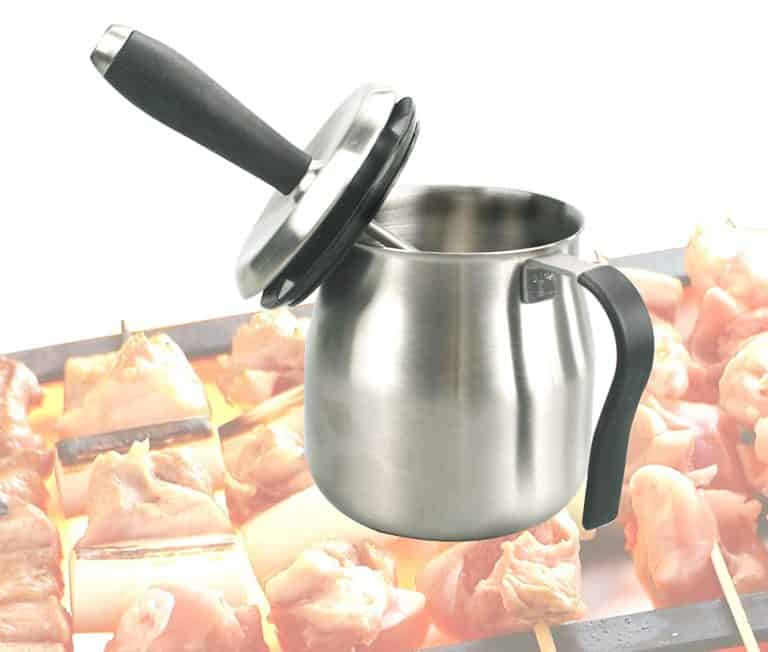 grilling gift ideas: basting pot with brush