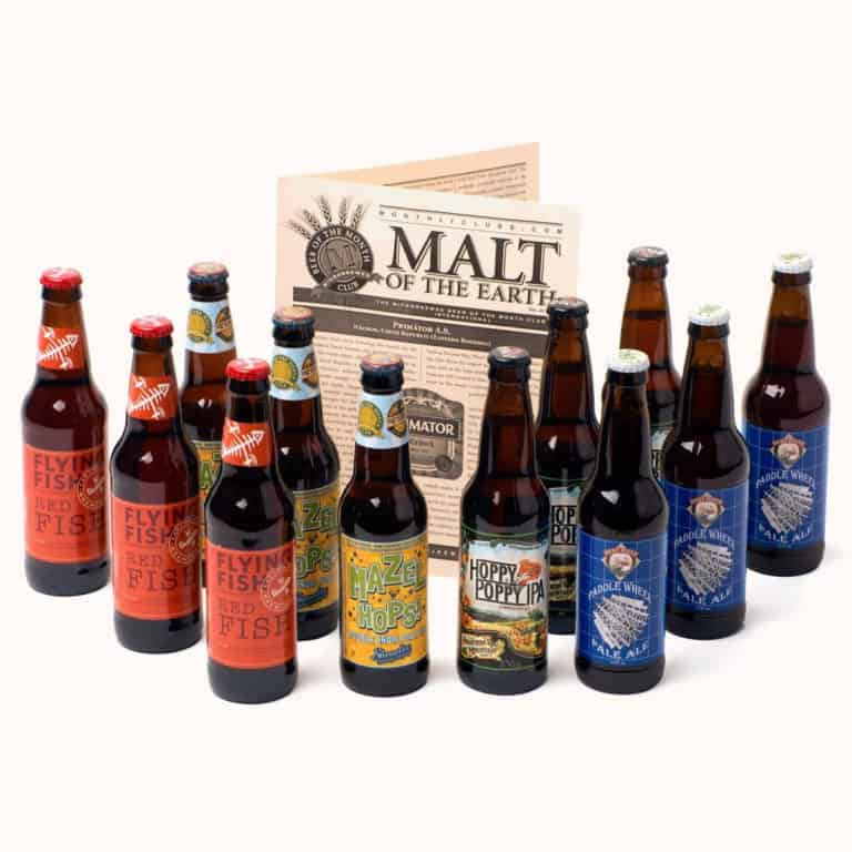 gifts for dad who loves beer: The U.S. Microbrewed Beer Club Membership