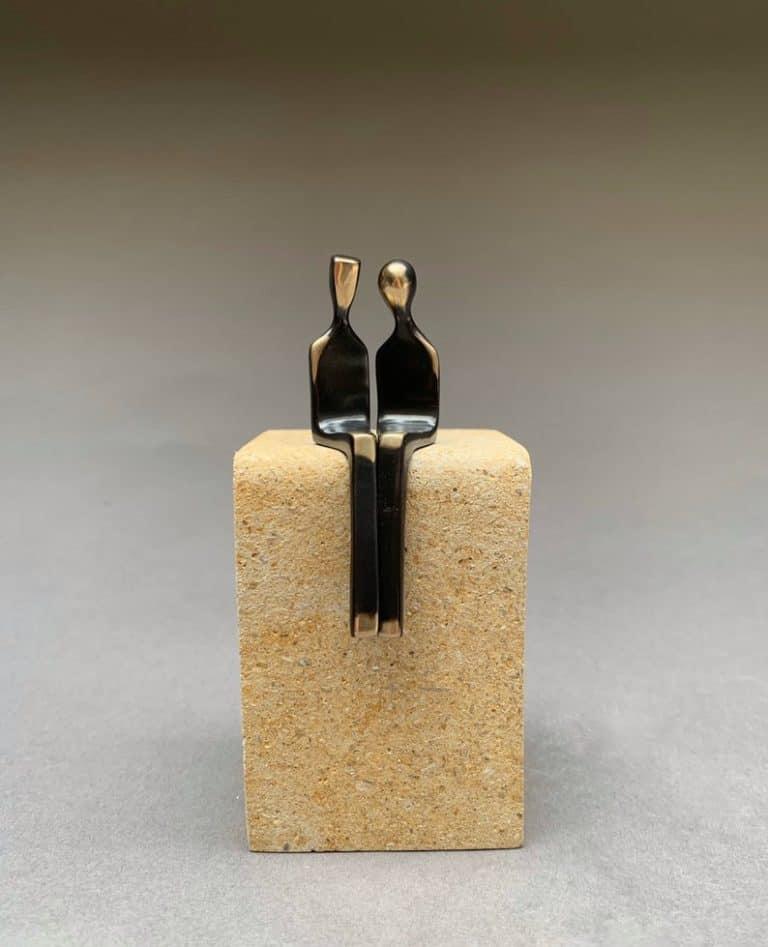 bronze anniversary gift idea: bronze sculpture