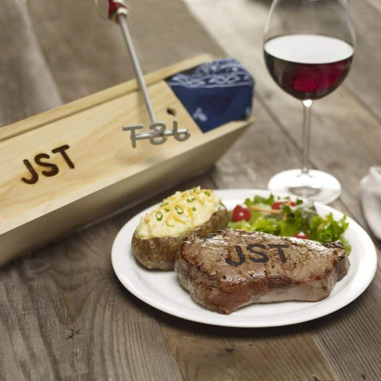 cool grill gifts: custom steak brander