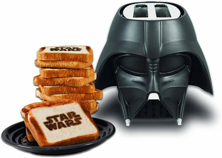darth vader toaster - unique star war gifts
