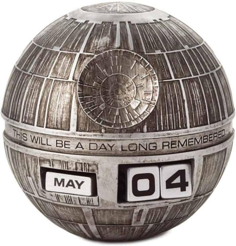 unique star wars gift: death star perpetual calendar