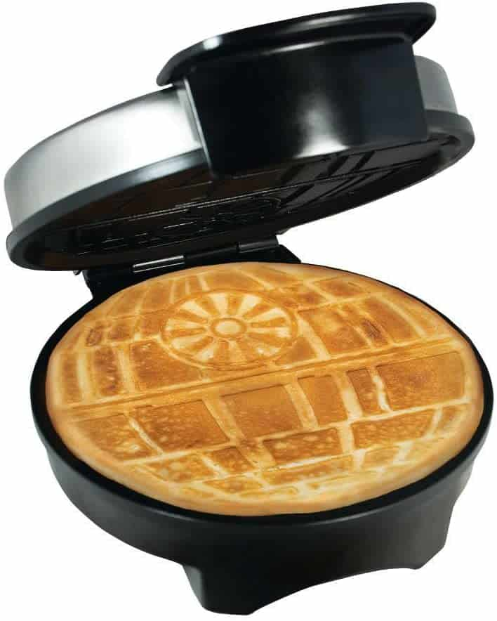 star wars stuff: death star waffle maker