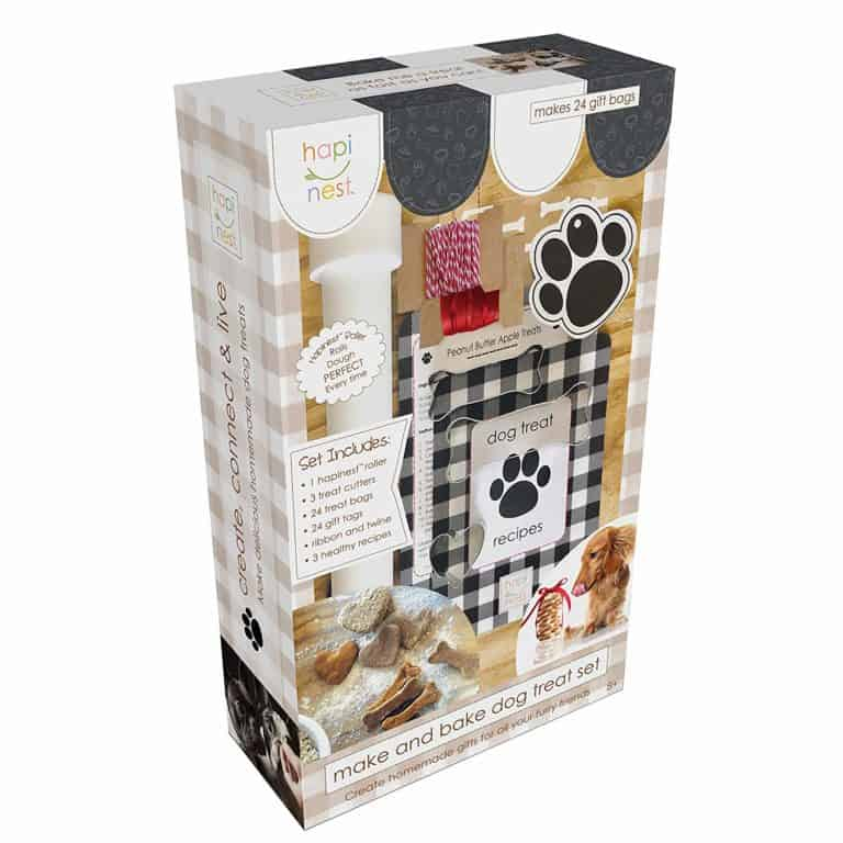 unique gift for dog lovers: diy homemade dog treats kit