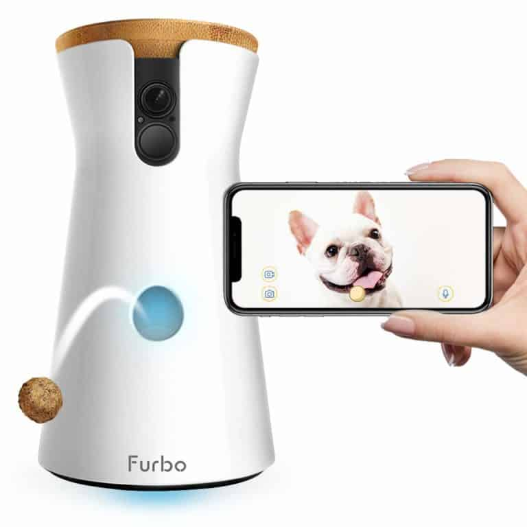 unique gifts for dog lovers: dog camera with treats