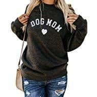 cute gift for dog moms: dog mom sweatshirt