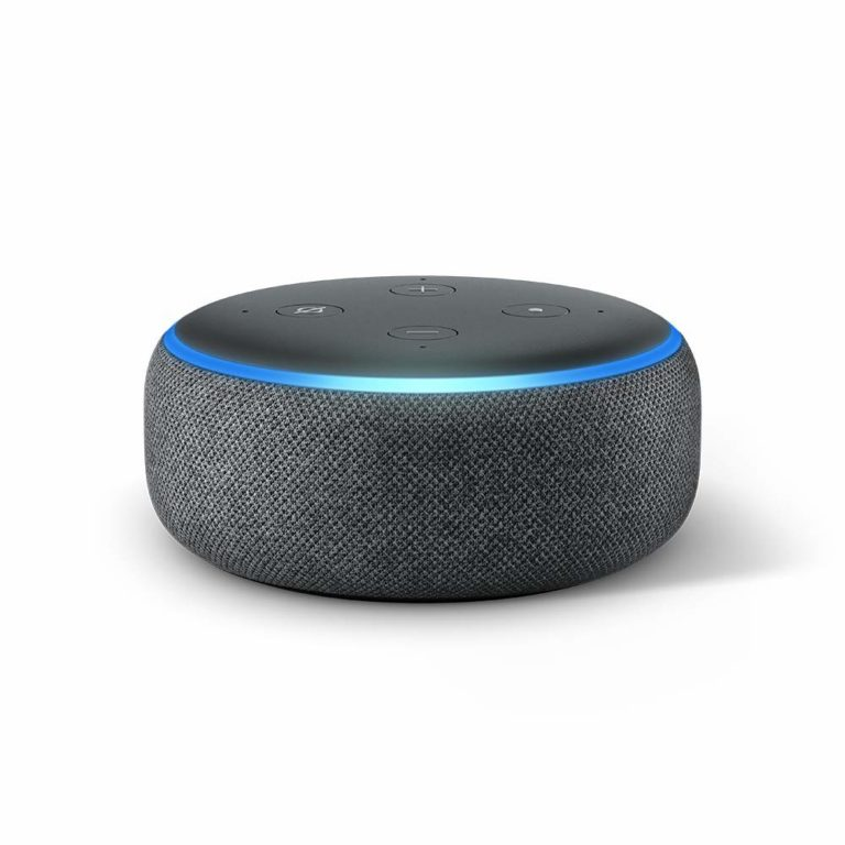 tech gifts for men: echo dot 3rd gen