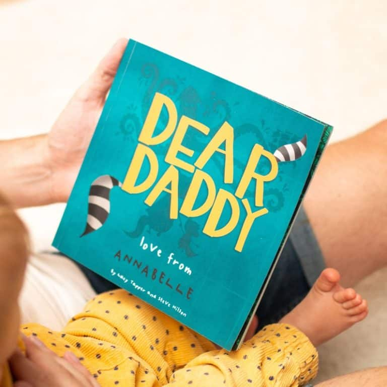 creative father's day gifts - dear daddy book fathers