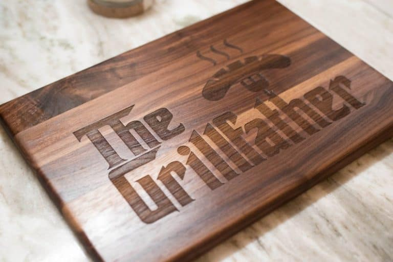 fathers day ideas - cutting board