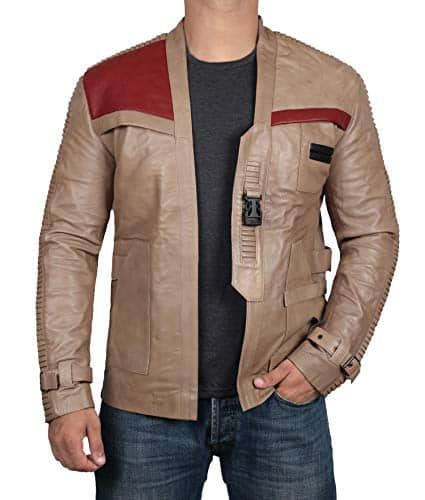 star wars gift for him: Star Wars Finn's leather jacket