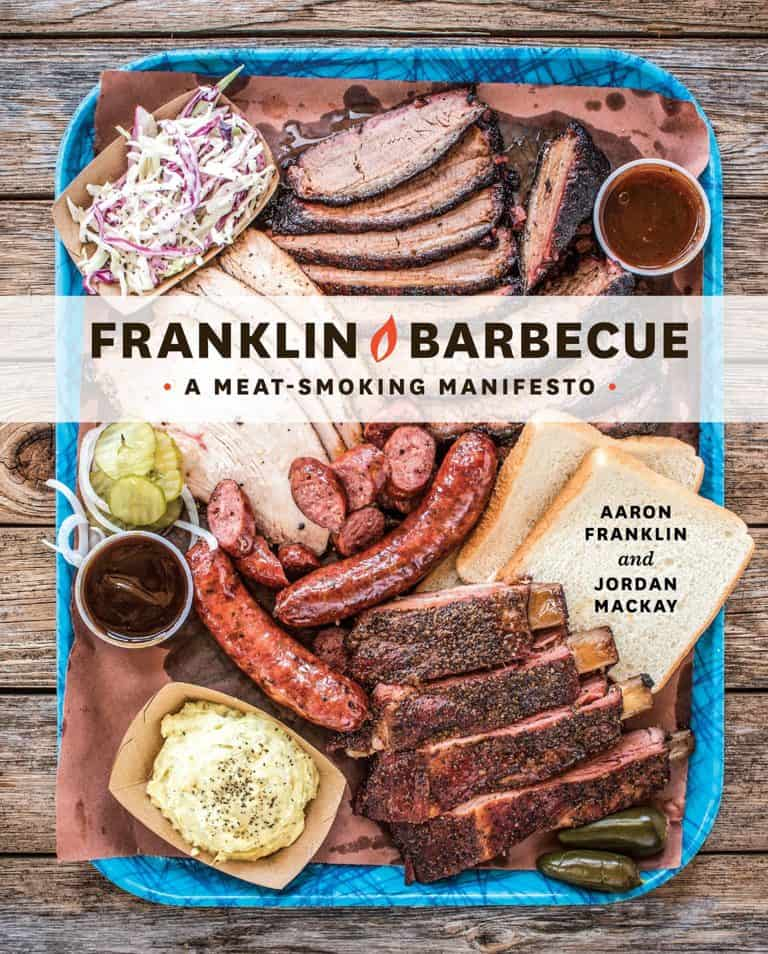 gifts for bbq lovers: franklin barbecue cookbook
