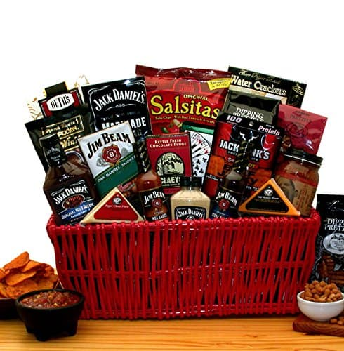 gifts for bbq lovers: grilling gift basket