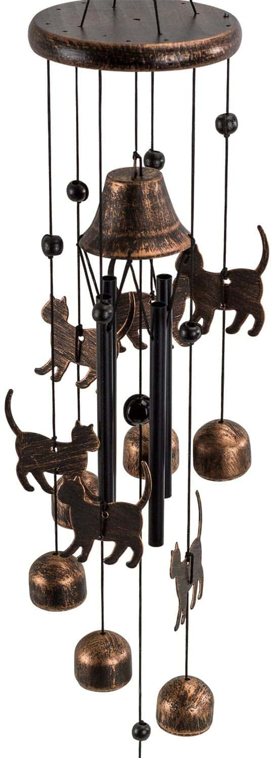 cat mom gifts - direct cat wind chime