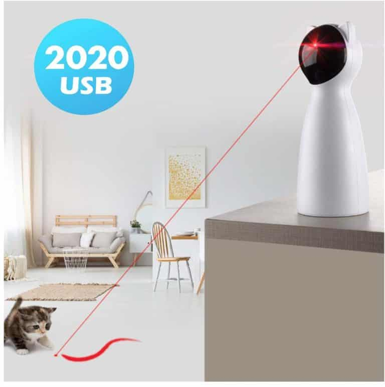 laser automatic interactive kitten