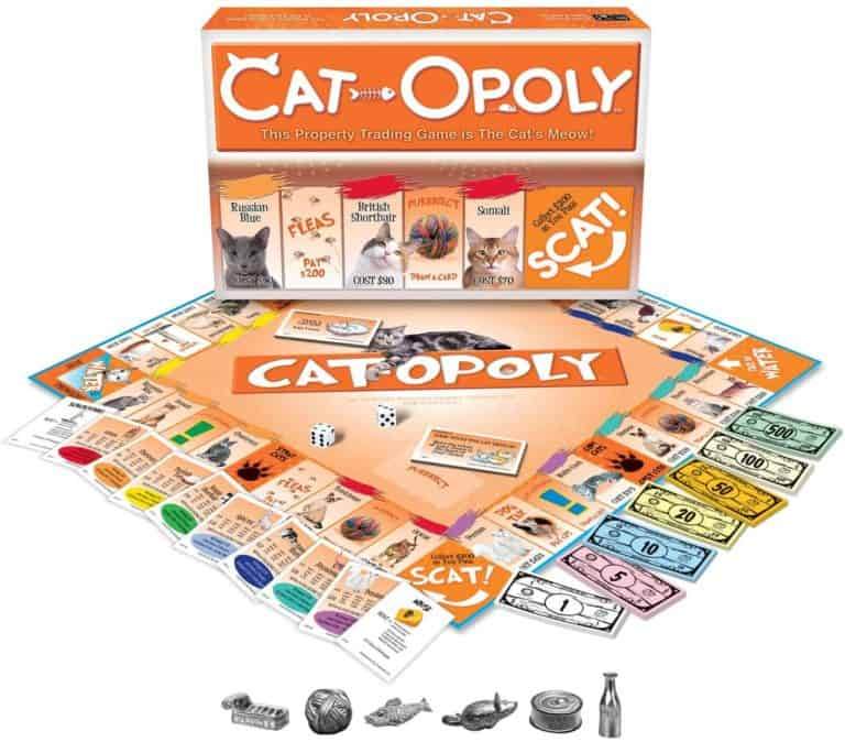 gifts for cat lovers - catopoly game