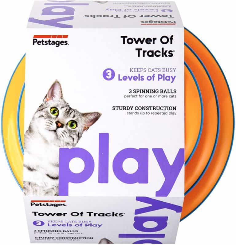 tracks cat toy - gifts for cat lovers