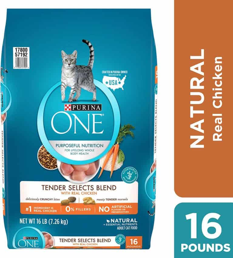 gifts for cat lovers - purina one natural selects chicken