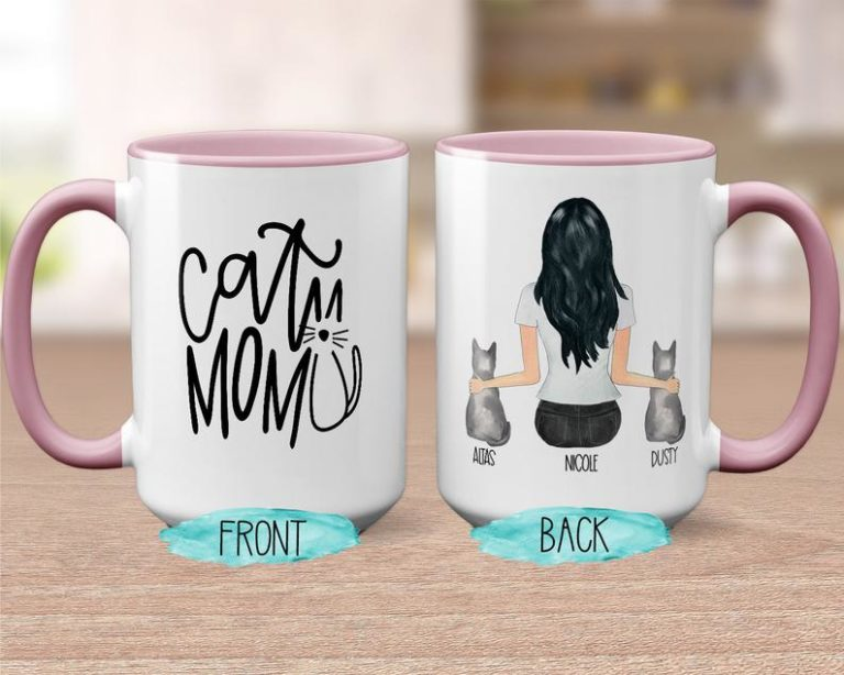 gifts for cat lovers - custom mug