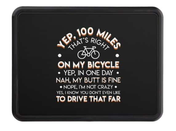 funny cycling riders biker hitch