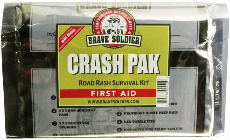 gifts for cyclists - crash pak first aid kit