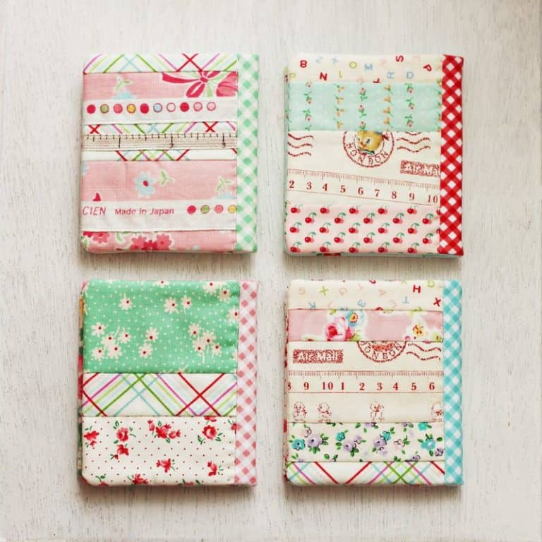 gifts for quilter - diy book cover