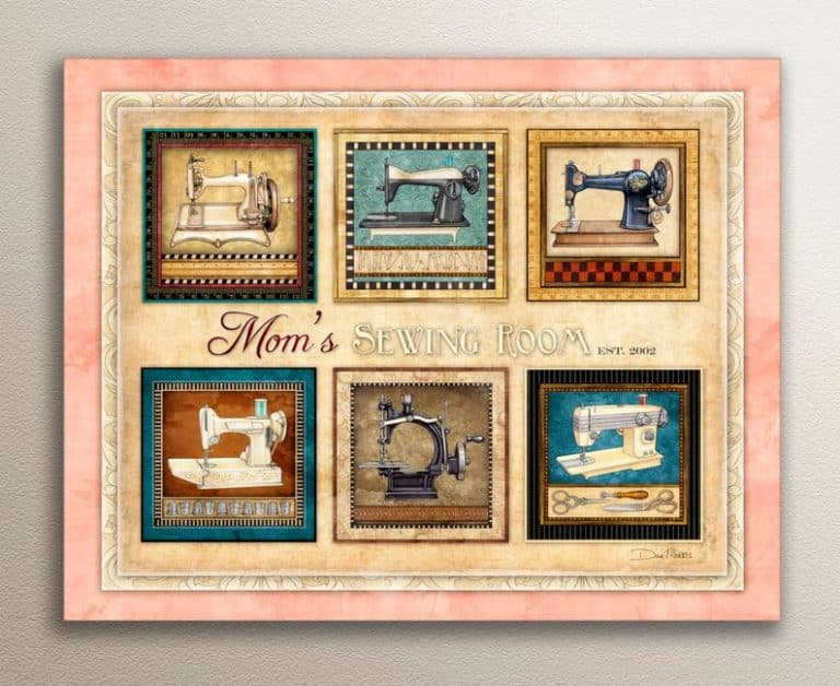 customizable art print - gifts for quilters