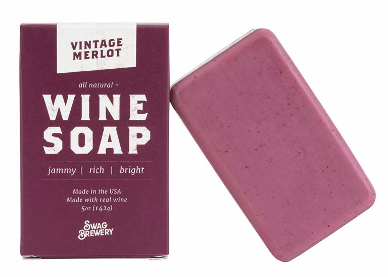 wine soap - lil sis gift ideas