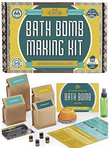bath bomb making kit - gifts for sister