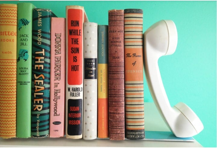 cute gifts for sister - handmade telephone bookends