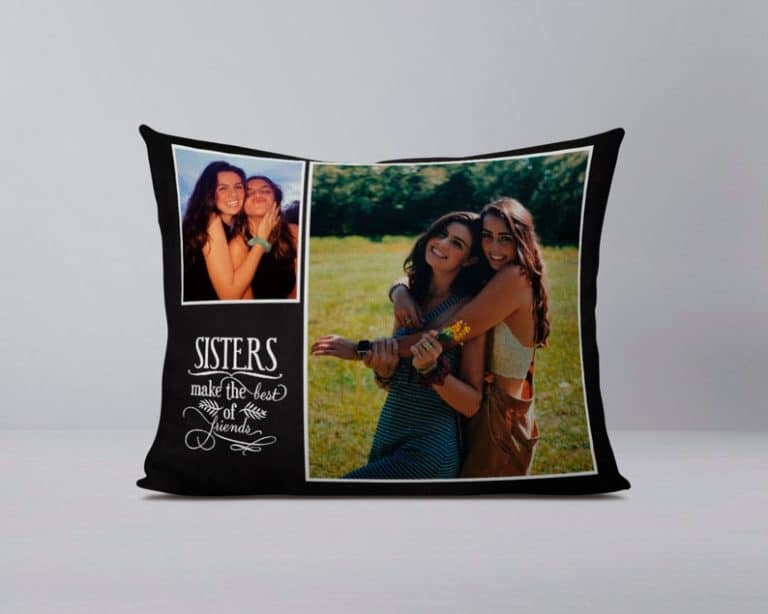 gifts for sister - custom pillow