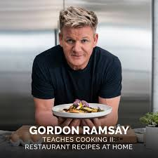 unique gifts for father in law: cooking class with Gordon Ramsay