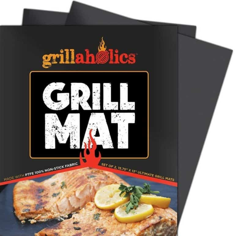 bbq gifts: grillaholics grill mats