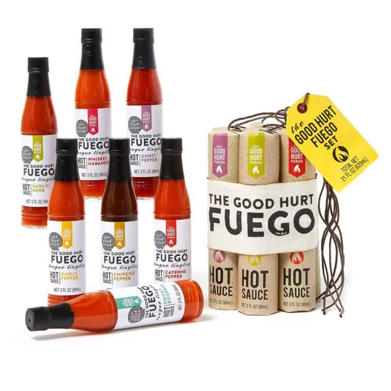 fathers day gift: hot sauce gift set