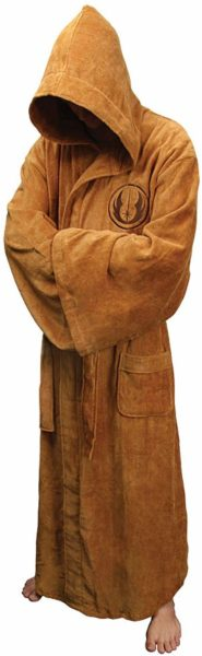 jedi fleece bathrobe