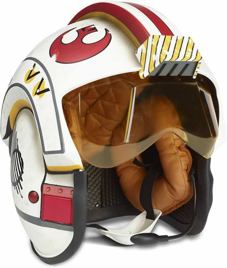 star wars stuff: luke skywalker helmet with battle simulation