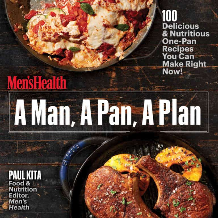 fathers day gifts: a man, a pan, a plan cookbook