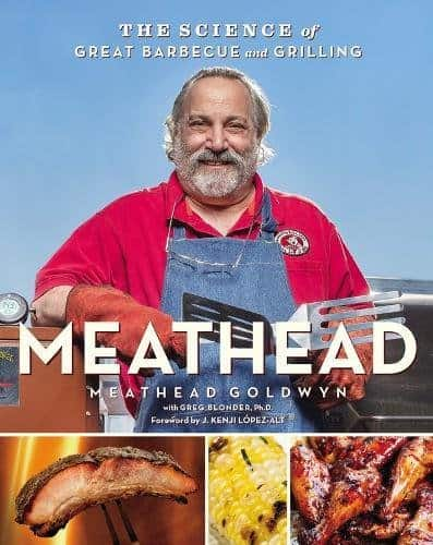bbq gift ideas: meat head cooking guide book