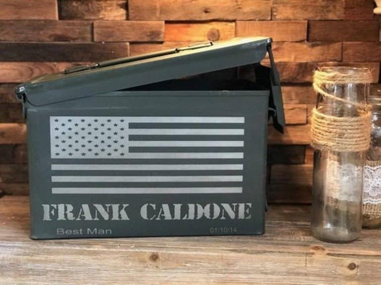 personalized ammo can - gift idea for men