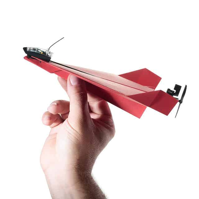 funny gift idea for dad: smartphone controlled paper airplane